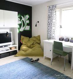 Kodin1, Elämäni koti, Vierasblogi Neovia House, Teinipojan rento huone #elamanikoti