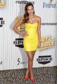 Jessica Alba arriving at the 2013 Spike TV Guys Choice Awards at Sony Pictures Studios in Culver City, California - June 8, 2013 - Photo: Runway Manhattan/AFF