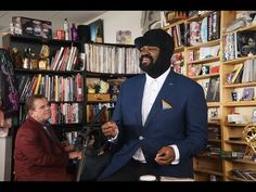 Gregory Porter - featured as part of NPR's Tiny Desk Concert Series. #ExcellentBehaviour