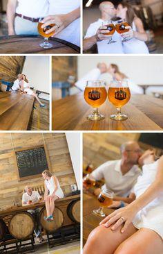 www.katenesi.com   brewery photography engagement portrait session #photos #wedding #love