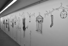 """""""On a clothes hanger somewhere in this world"""", by Merel Boers, Amsterdam, The Netherlands, pinned by Ton van der Veer"""