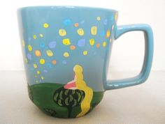 9. Hand-Painted Floating Lanterns Mug | Community Post: 17 Spectacular Mugs For Every Disney Fanatic