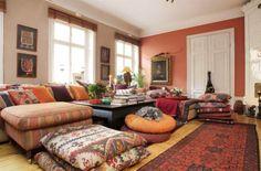 Soffan, från numera nedlagda butiken The one, bjuder in till soffhäng Lulu Carter's Boho home, Leva&Bo