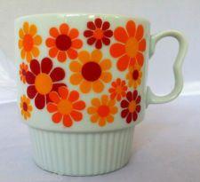 Vintage Orange Cup