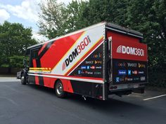 DOM360 sponsors the Team DOM360 Cycling group. Here's their toy hauler.