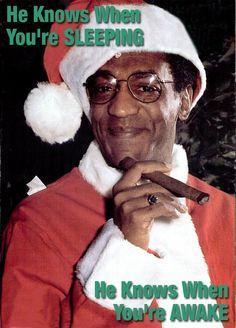 Bill Cosby Santa meme