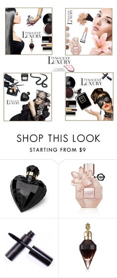 """Beauty Suite • Innocent Luxury"" by ultracake ❤ liked on Polyvore featuring beauty, Chanel, Terre Mère, Lipsy, Viktor & Rolf, Laura Mercier, Beauty, makeup, perfume and ultracake"