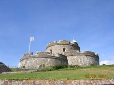 St. Mawes Castle, Cornwall, England, United Kingdom.  A well-preserved coastal fortress from the time of Henry VIII, built between 1539 and 1545.  Photo by Jennifer Dacy Butler.  September 2007