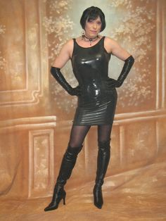 Mistress in miniskirt waiting for you