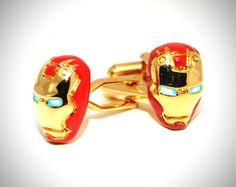 Iron Man Cufflinks 1 pic on Design You Trust