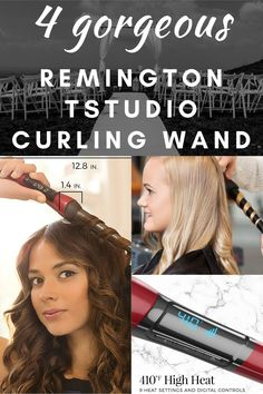 """Beautiful, salon-quality curls are simply a wrap away with the Remington T
