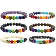 Jewelry & Accessories The Cheapest Price 8mm Hematite Stone With Alloy Crown Men Bracelet Fashion Black Gallstone Beads Yoga Elastic Strand Bracelets For Women Jewelry To Prevent And Cure Diseases