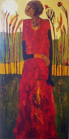 Page of Love, painting, Goli-Mahallati