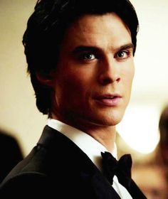 Damon Salvatore. This look <3 The beginning of a pivotal moment in the episode. What I'd give to have him look at me that way
