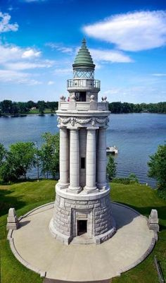 Crown Point Lighthouse, Vermont by della
