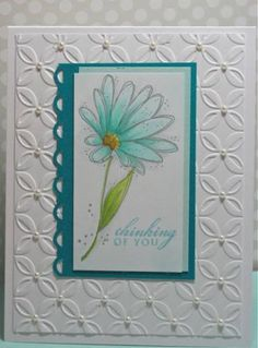 Gentle Daisy by corysnana1 - Cards and Paper Crafts at Splitcoaststampers