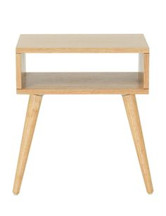Bring modern style to your living space with this Carson side table.