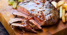 Spicy BBQ Grilled Steak FB