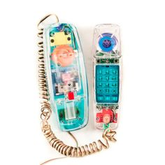 Vintage Telephone Retro Phone Geek Chic by goodmerchants I used to have this in my room. See Through Phone, Accessoires Divers, Cartoon Photo, 3d Cartoon, Cartoon Characters, Retro Phone, Vintage Telephone, Vintage Toys, Electronic Toys