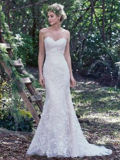 Trena - Maggie Sottero - Available at Stella's Bridal & Evening Collections