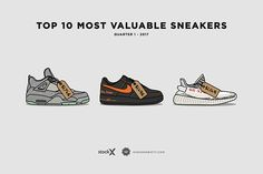 Most Valuable Sneakers | Highsnobiety on Behance