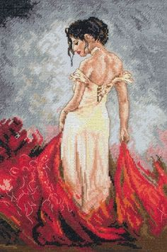 Rhapsody Cross Stitch Kit from Maia from £31.25 - Past Impressions