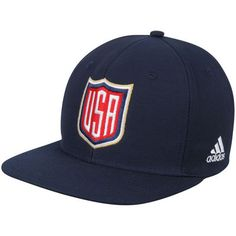 Men's US Hockey adidas Navy 2016 World Cup of Hockey Logo Adjustable Hat