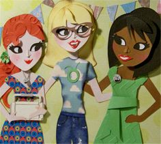 Cricut® Everyday Cartridge, Paper Dolls Teen Scene - Cricut Shop