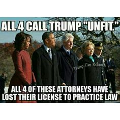 So, who is now unfit to practice law? but you all can pretend to be lawyers in your sandboxes. Shovel up!!!