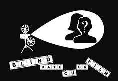 Blind date cu un film, pentru cei care vor să se detașeze de rutina Blind Dates, Film, Playing Cards, Darth Vader, Dating, Fictional Characters, Movie, Movies, Quotes