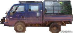 KIA K 2700 CAMIONETA - TIPO FURGON DOBLE CABINA- 4 X 4 en Todo Paraguay
