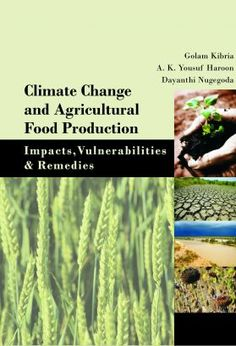 Agriculture Books, Climate Change and Agricultural Food Production - www.nipabooks.com