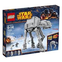 Amazon.com: LEGO Star Wars 75054 AT-AT Building Toy (Discontinued by manufacturer): Toys & Games