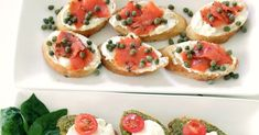 I love this super simple recipe by The Lovely Cupboard for crostini. Good idea for a New Year's Eve party! 1. Preheat your oven to ...