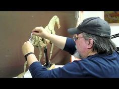 Sculpture Tutorial - New Beginnings - Foundry today then Adjusting the Horse - YouTube