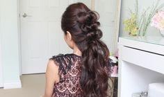 Elegant Faux Hawk Hair  Prom Hairstyle