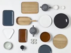 Barber & Osgerby Olio for Royal Daulton. Designed as a collection not a set.