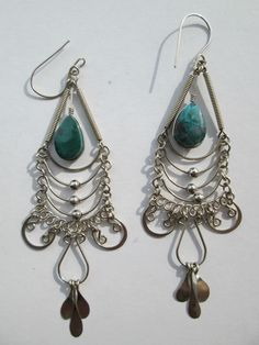 1 Paar Ohrringe aus Peru handgemacht  Nr.7 Folklore Folkloreschmuck Schmuck Ohr