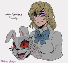Five Nights At Freddy's, Anime Fnaf, Kawaii Anime, Anime Character Drawing, Character Art, A Hat In Time, Fnaf Characters, Fnaf Drawings, Sister Location