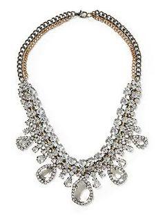 Sabine Vintage Faceted Necklace | Piperlime