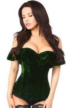 Corset Outfit, Dress Bra, Corset Dresses, Dress Pants, Green Lingerie, Sexy Lingerie, Lingerie Dress, Luxury Lingerie, Lehenga