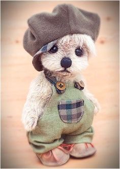 Needle Felted Animals, Felt Animals, Teddy Beer, Teddy Bear Crafts, Teddy Pictures, Images Vintage, Teddy Toys, Cute Stuffed Animals, Tatty Teddy