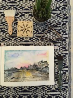 Sarah J. Loecker : Quick landscapes in watercolour- another workshop . Used Books, My Books, Sarah J, Urban Sketching, Book Reviews, Art Blog, Art Supplies, Watercolour, Landscapes