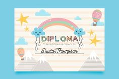 David Thompson, Certificate, Presents, Vector Freepik, Home Decor, Sensory Play, Free Vector Art, Plants
