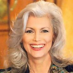 Medium Hair Styles For Women Over 40   how to wear long hair with grey hairstyles for women over 50 - I will ...
