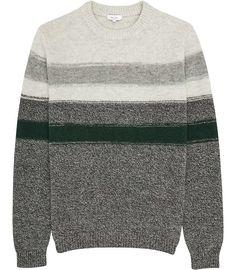 Tyler Green Wool Stripe Jumper - REISS