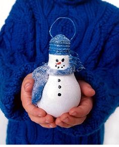 Lightbulb Ornament inspiration