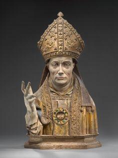 *Reliquary bust -  1520.  Brussels.  © Foto: Skulpturensammlung und Museum für Byzantinische Kunst der Staatlichen Museen zu Berlin - Preußischer Kulturbesitz