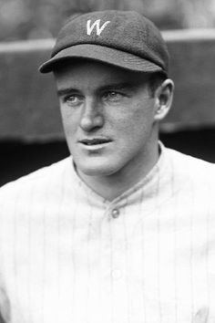 Joe Cronin wearing a Washington Senator's uniform. Manager of the 1933 World Series contending Senators.