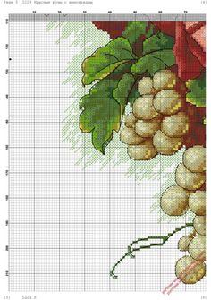 Gallery.ru / Фото #7 - *****flores***** - celita / czerwone róże i winogrona 4/7